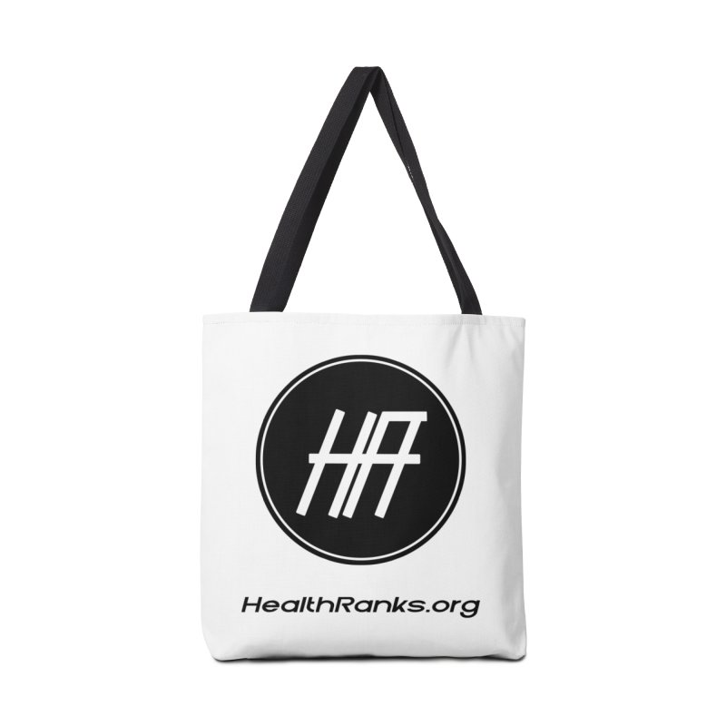 "HR ""official"" logo Accessories Tote Bag Bag by HealthRanks.org GEAR"