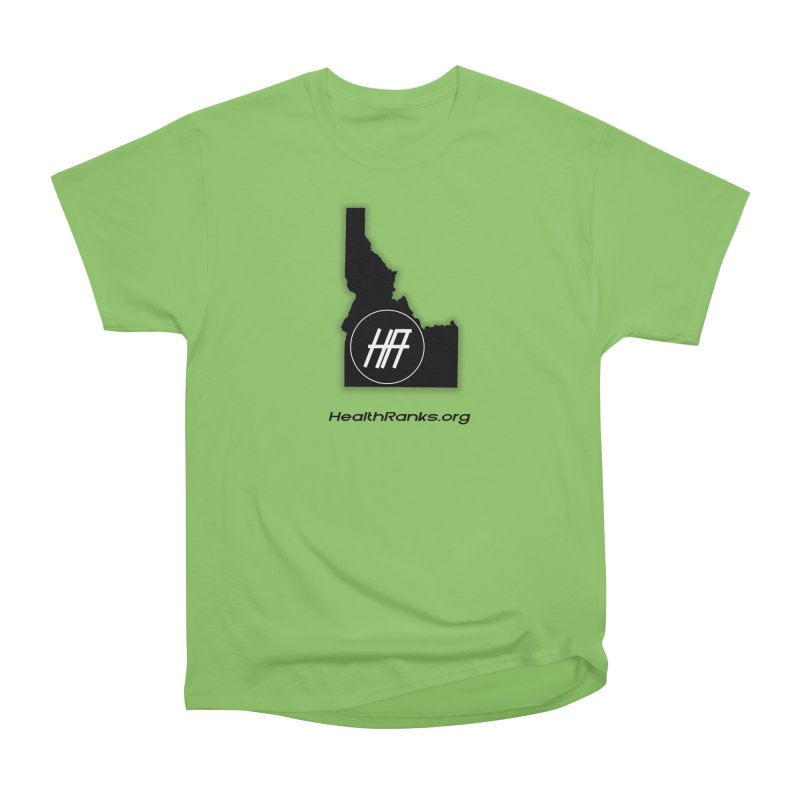 "HR ""idaho"" logo Men's Heavyweight T-Shirt by HealthRanks.org GEAR"