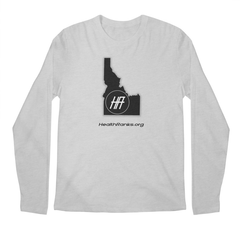 "HR ""idaho"" logo Men's Longsleeve T-Shirt by HealthRanks.org GEAR"