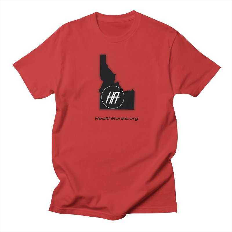 "HR ""idaho"" logo Women's Regular Unisex T-Shirt by HealthRanks.org GEAR"