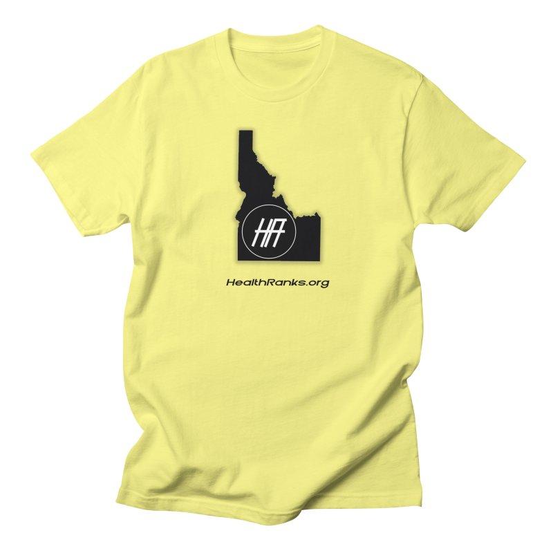 """HR """"idaho"""" logo Men's Regular T-Shirt by HealthRanks.org GEAR"""