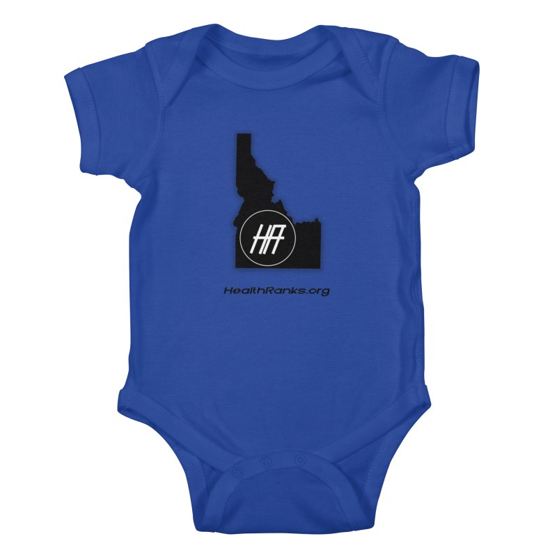 "HR ""idaho"" logo Kids Baby Bodysuit by HealthRanks.org GEAR"