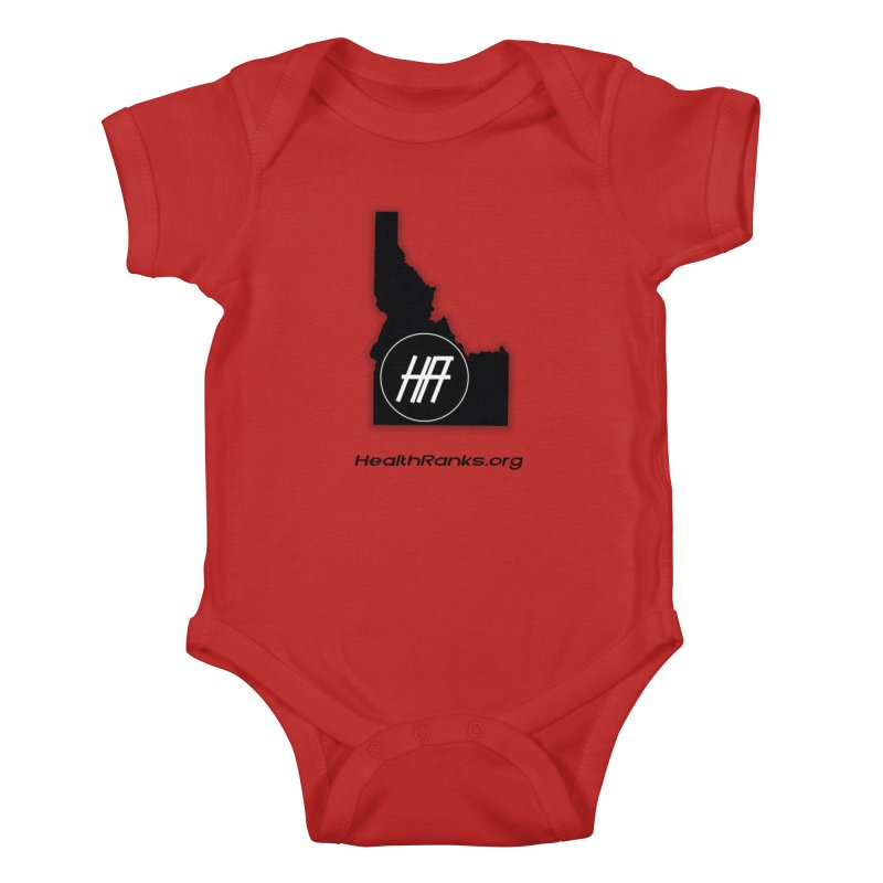 "HR ""idaho"" logo Kids Baby Bodysuit by HealthRanks.org GEAR"