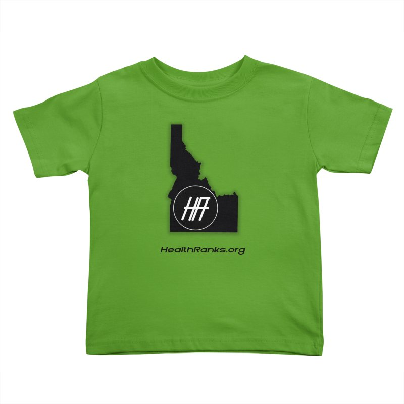 "HR ""idaho"" logo Kids Toddler T-Shirt by HealthRanks.org GEAR"
