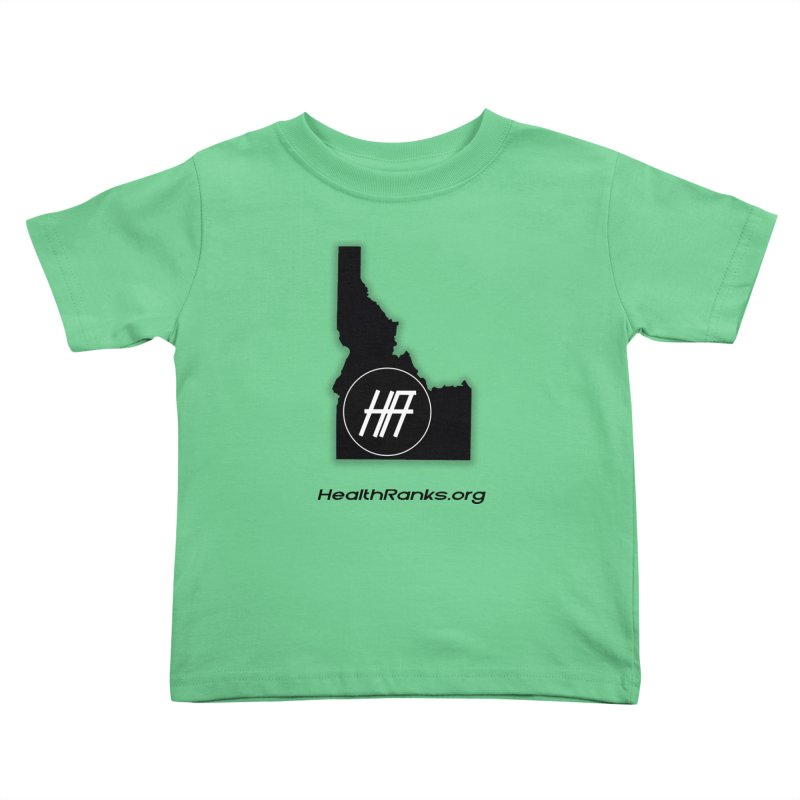 "HR ""idaho"" logo Kids Toddler T-Shirt by HealthRanks.org GEAR"
