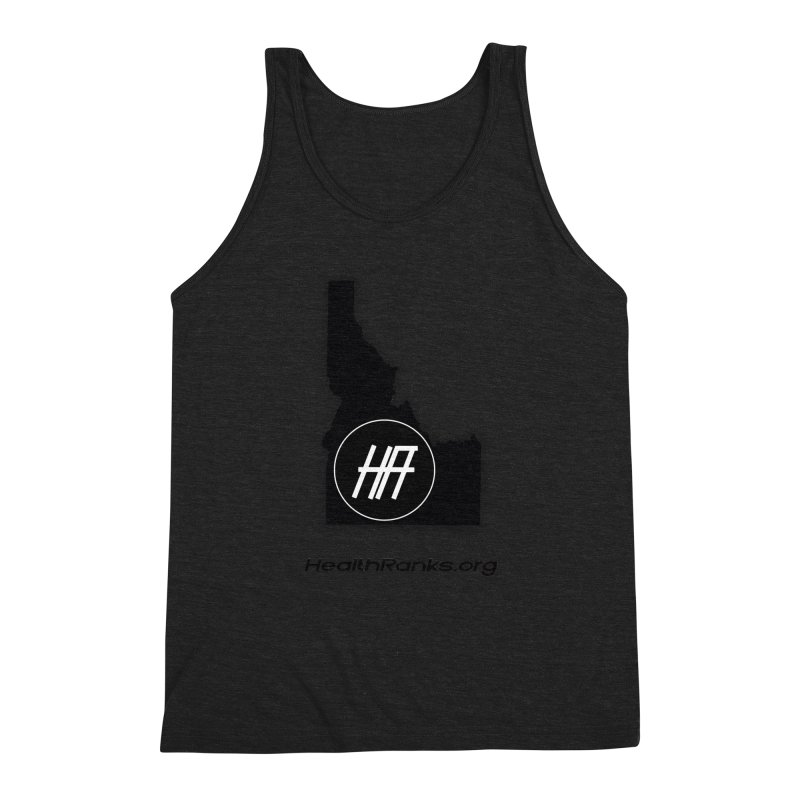 "HR ""idaho"" logo Men's Tank by HealthRanks.org GEAR"