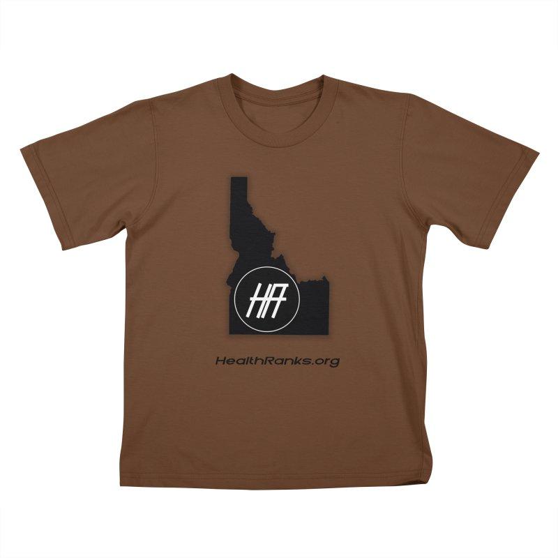 "HR ""idaho"" logo Kids T-Shirt by HealthRanks.org GEAR"