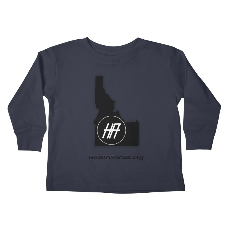 "HR ""idaho"" logo Kids Toddler Longsleeve T-Shirt by HealthRanks.org GEAR"