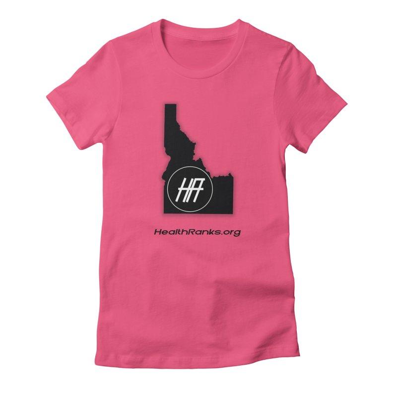 "HR ""idaho"" logo Women's Fitted T-Shirt by HealthRanks.org GEAR"