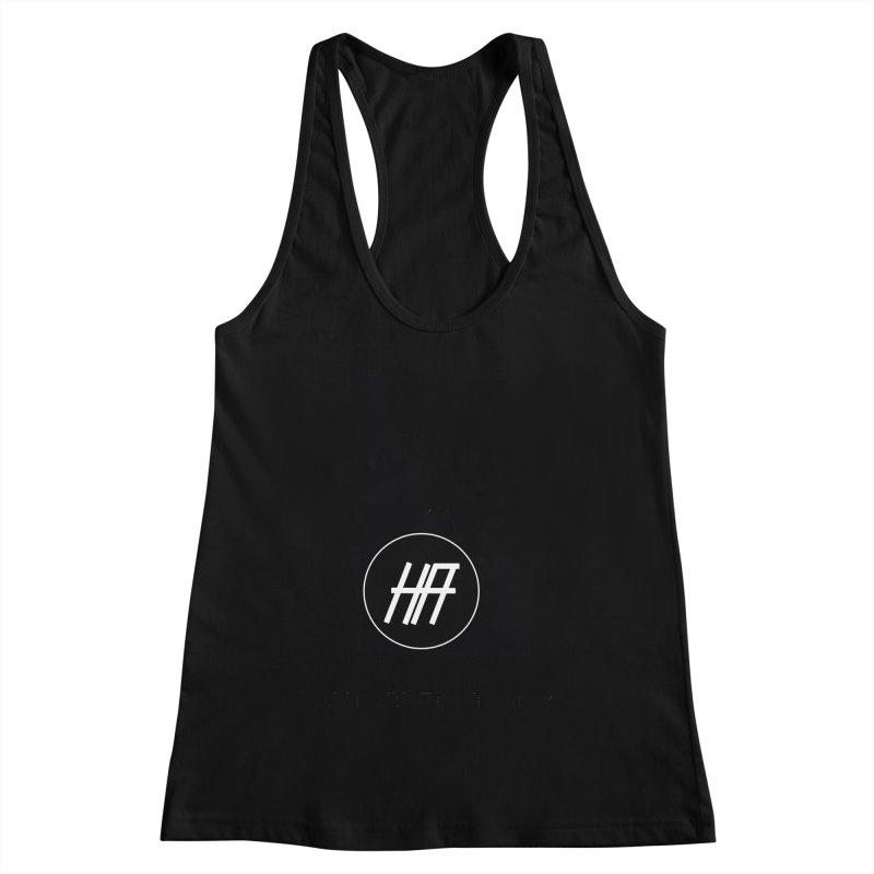 """HR """"idaho"""" logo Women's Racerback Tank by HealthRanks.org GEAR"""