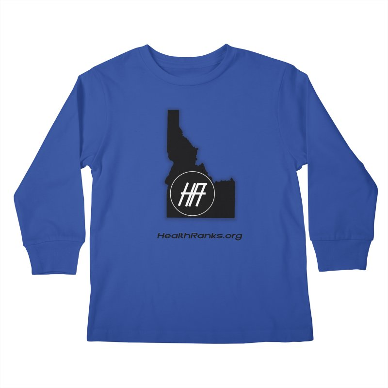 "HR ""idaho"" logo Kids Longsleeve T-Shirt by HealthRanks.org GEAR"