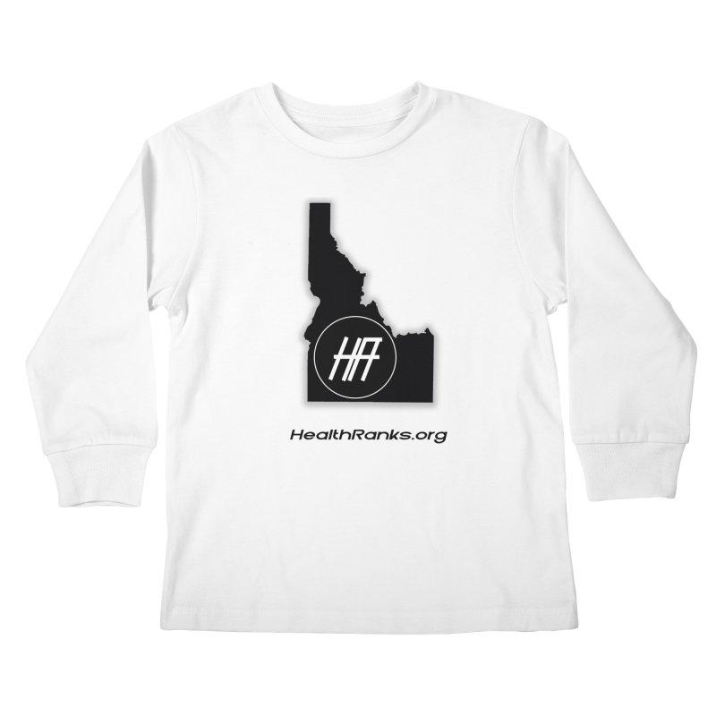 "HR ""idaho"" logo Kids Longsleeve T-Shirt by HealthRanks.org GEAR"