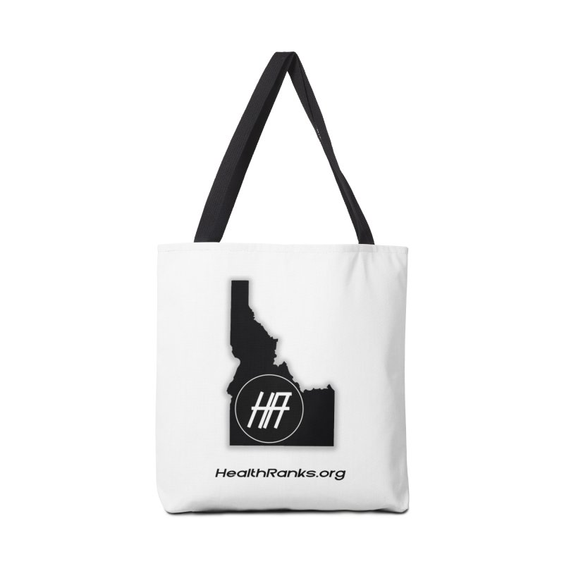 "HR ""idaho"" logo Accessories Tote Bag Bag by HealthRanks.org GEAR"
