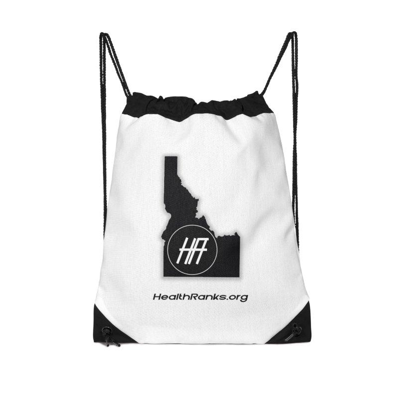 "HR ""idaho"" logo Accessories Drawstring Bag Bag by HealthRanks.org GEAR"
