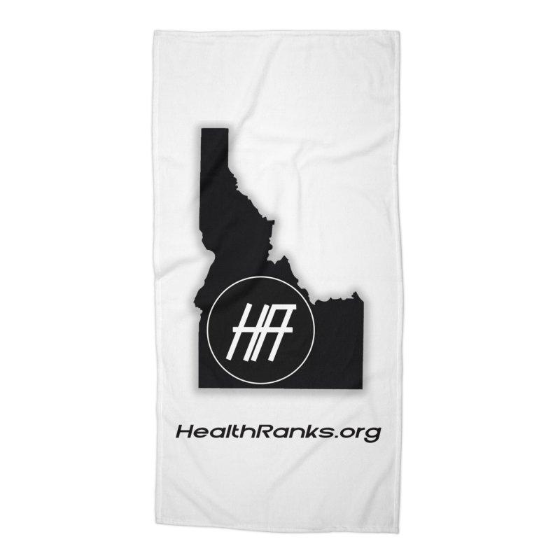 "HR ""idaho"" logo Accessories Beach Towel by HealthRanks.org GEAR"