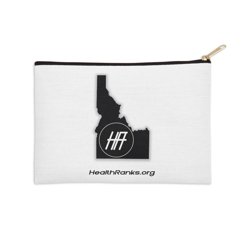 "HR ""idaho"" logo Accessories Zip Pouch by HealthRanks.org GEAR"