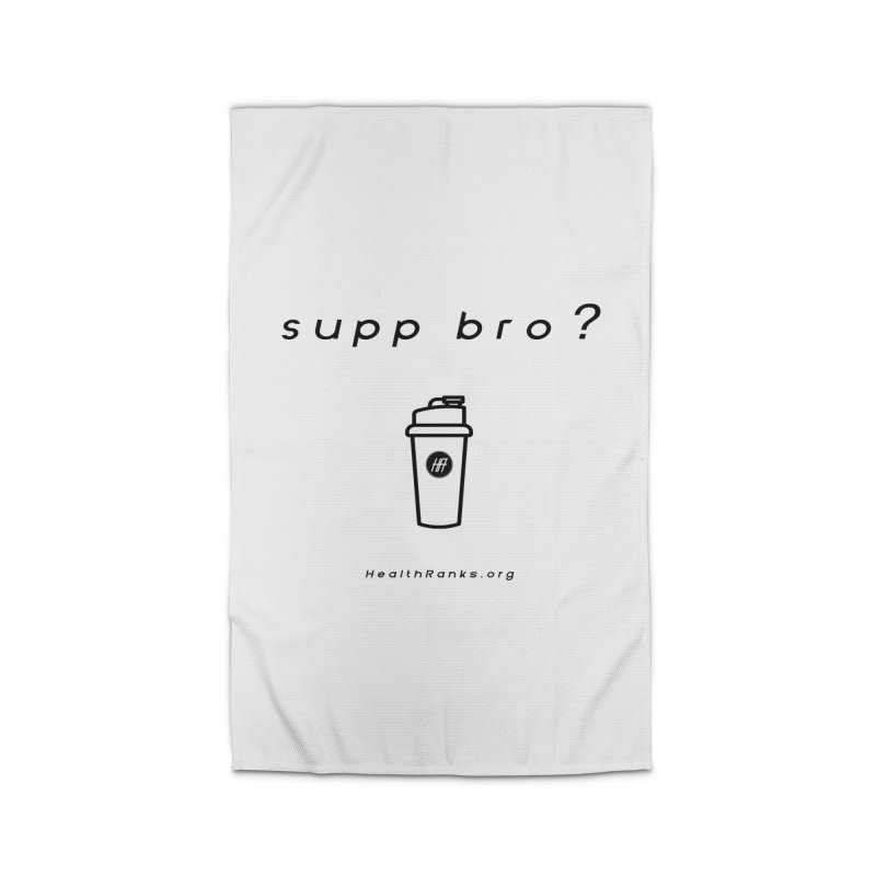 "HR ""supp bro"" logo Home Rug by HealthRanks.org GEAR"