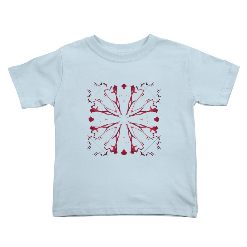 Blood Blossom Kids Toddler T-Shirt by Make Art Eat Pudding