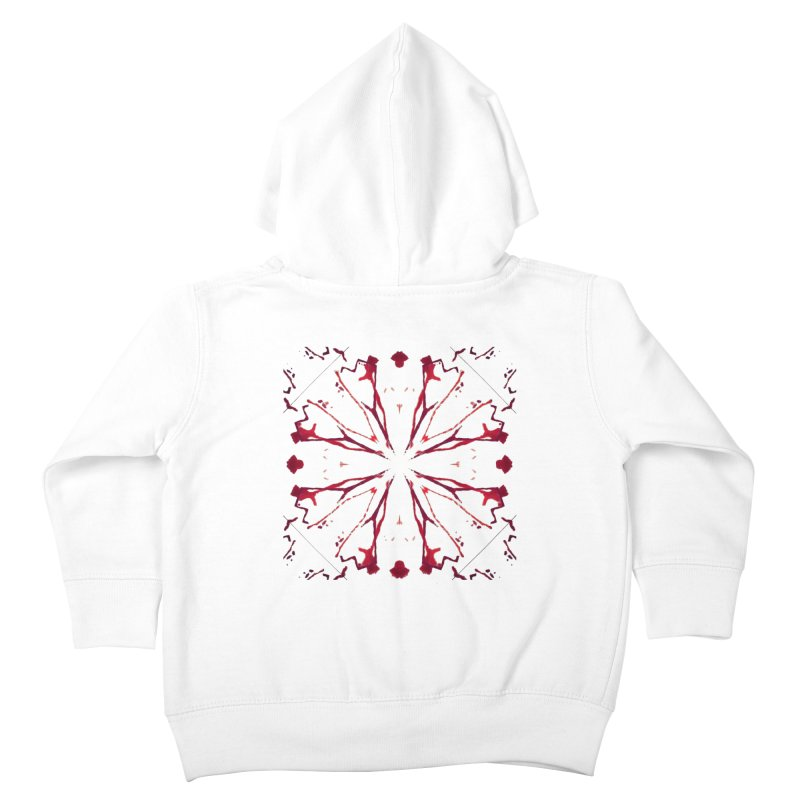 Blood Blossom Kids Toddler Zip-Up Hoody by Make Art Eat Pudding