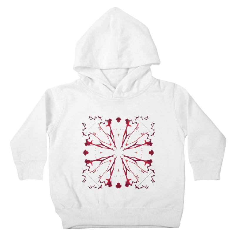 Blood Blossom Kids Toddler Pullover Hoody by Make Art Eat Pudding