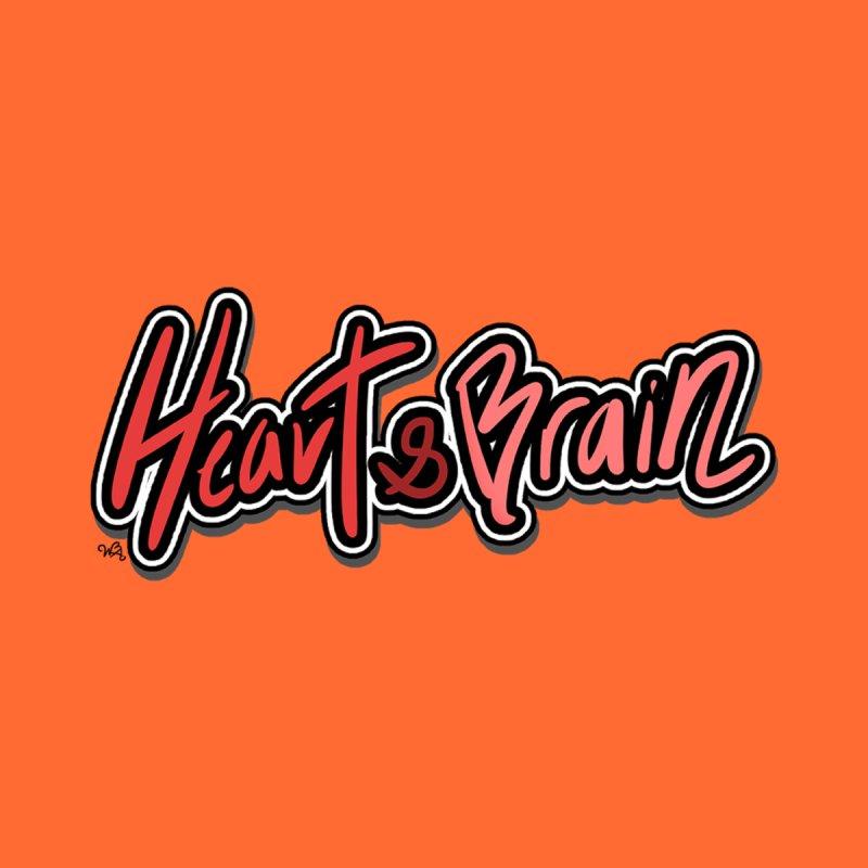 Heart & Brain Logo Sticker Accessories Greeting Card by Heart & Brain