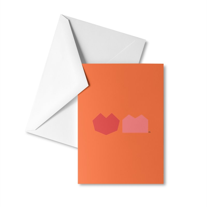 Heart & Brain Cover Sticker Accessories Greeting Card by Heart & Brain
