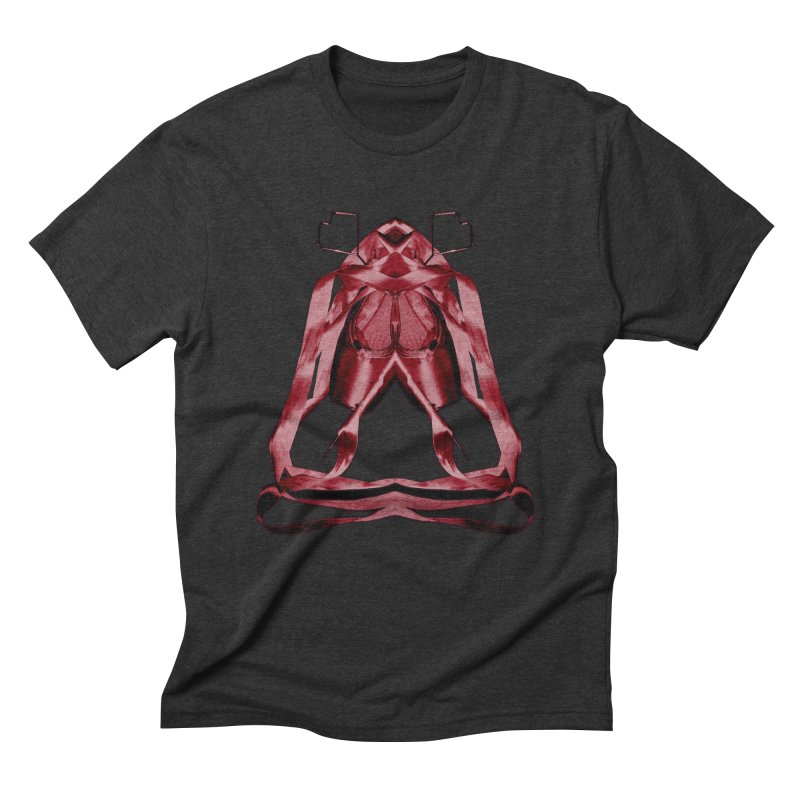 Bloody Pointe's Men's Triblend T-Shirt by Make Art Eat Pudding