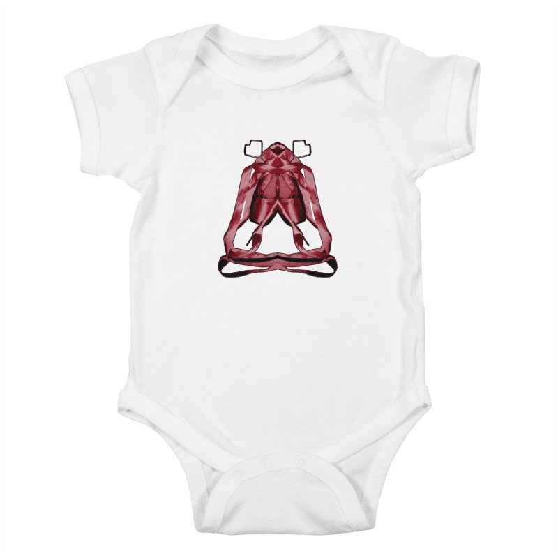 Bloody Pointe's Kids Baby Bodysuit by Make Art Eat Pudding