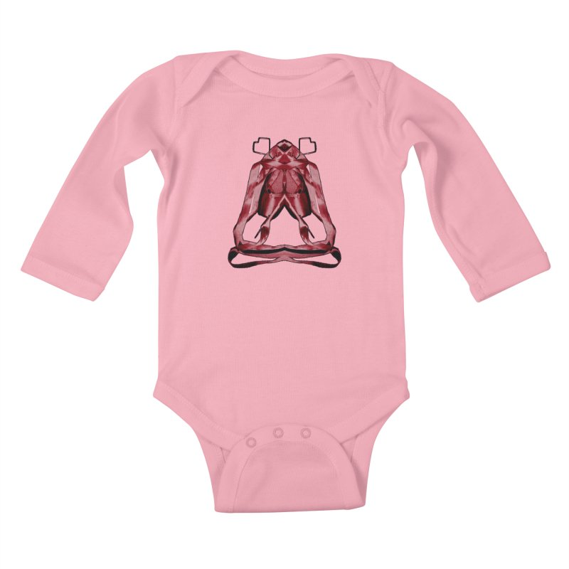 Bloody Pointe's Kids Baby Longsleeve Bodysuit by Make Art Eat Pudding
