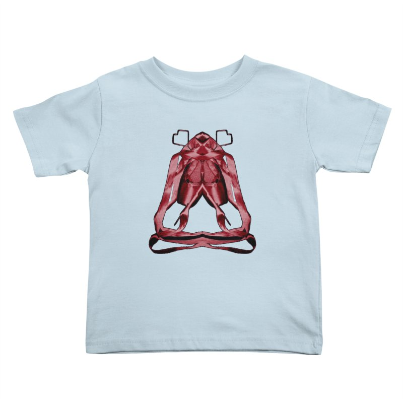 Bloody Pointe's Kids Toddler T-Shirt by Make Art Eat Pudding