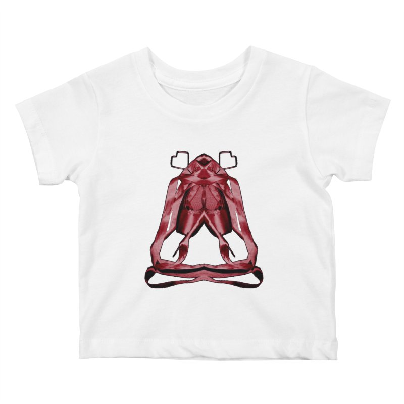 Bloody Pointe's Kids Baby T-Shirt by Make Art Eat Pudding