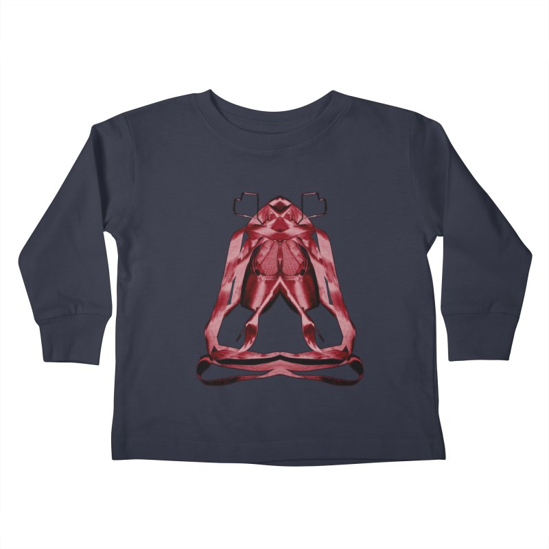 Bloody Pointe's Kids Toddler Longsleeve T-Shirt by Make Art Eat Pudding