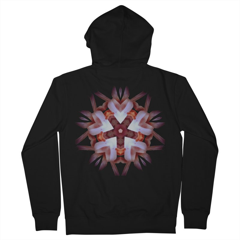 Heart Blossom Men's Zip-Up Hoody by Make Art Eat Pudding