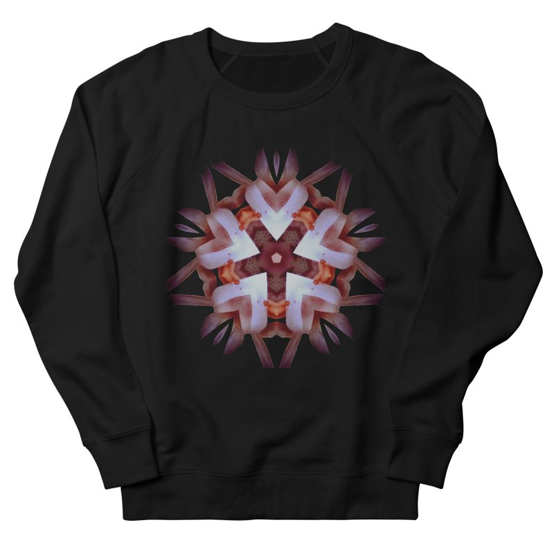 Heart Blossom Men's French Terry Sweatshirt by Make Art Eat Pudding