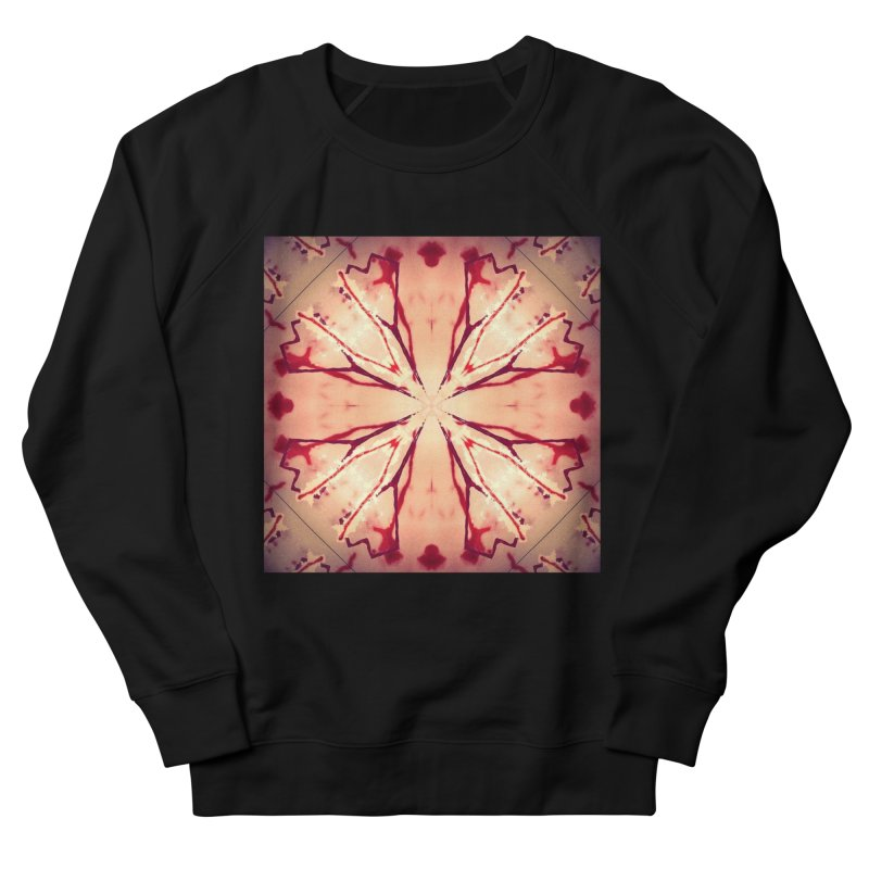 Blood Blossom Full Color Women's Sweatshirt by Make Art Eat Pudding
