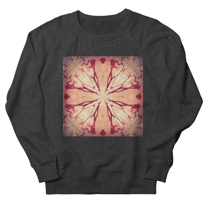 Blood Blossom Full Color Men's French Terry Sweatshirt by Make Art Eat Pudding