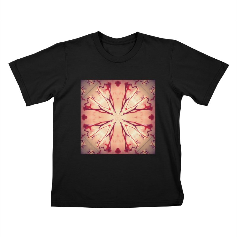 Blood Blossom Full Color Kids T-Shirt by Make Art Eat Pudding