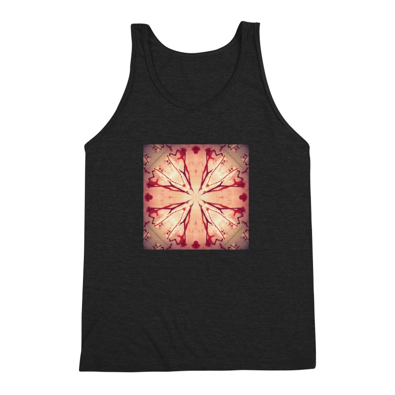 Blood Blossom Full Color Men's Triblend Tank by Make Art Eat Pudding
