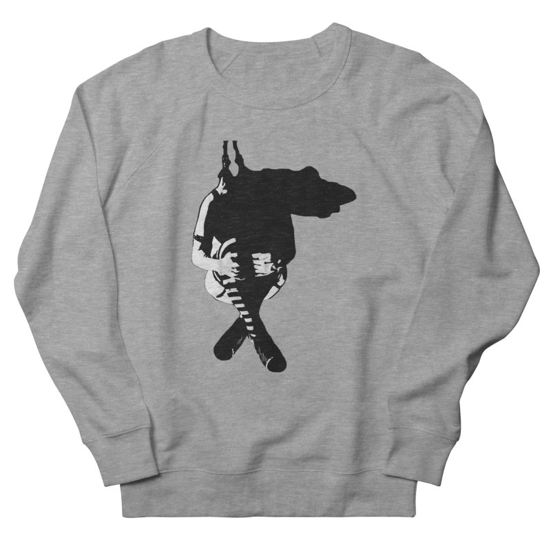 Suspense Men's French Terry Sweatshirt by Make Art Eat Pudding