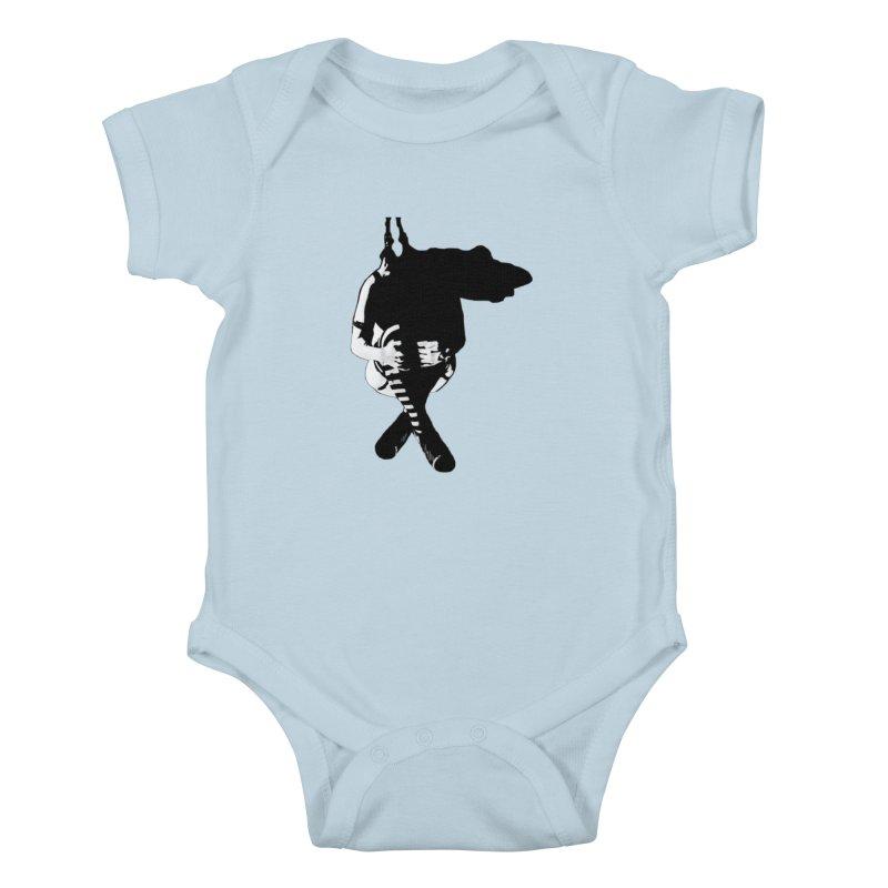 Suspense Kids Baby Bodysuit by Make Art Eat Pudding