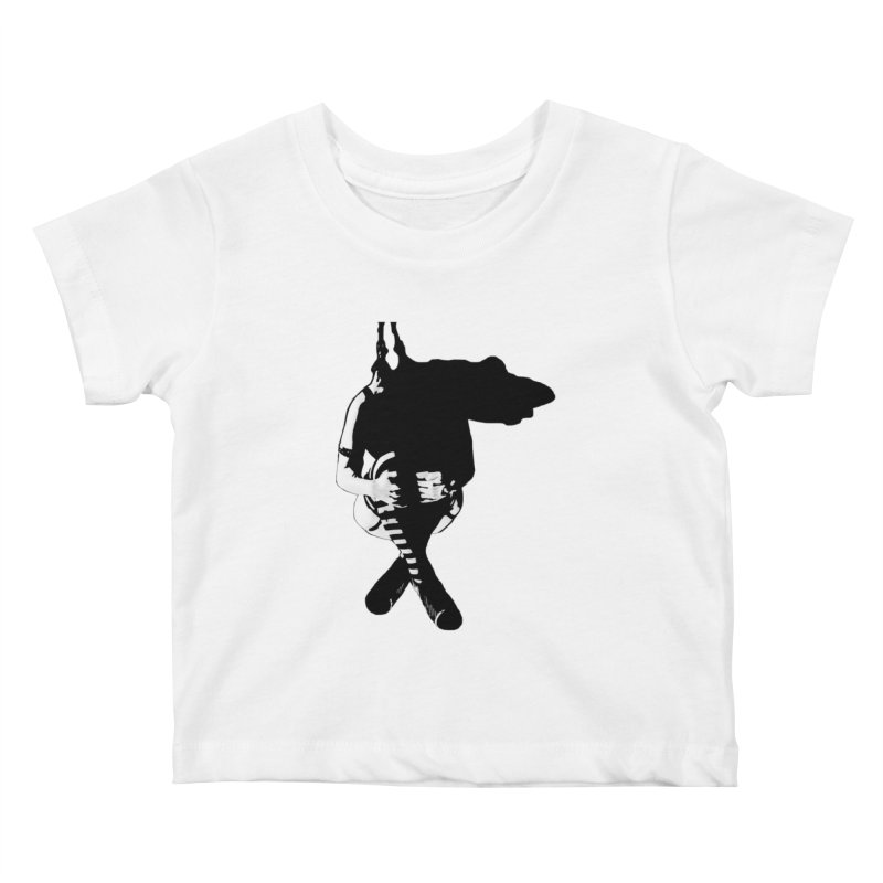 Suspense Kids Baby T-Shirt by Make Art Eat Pudding