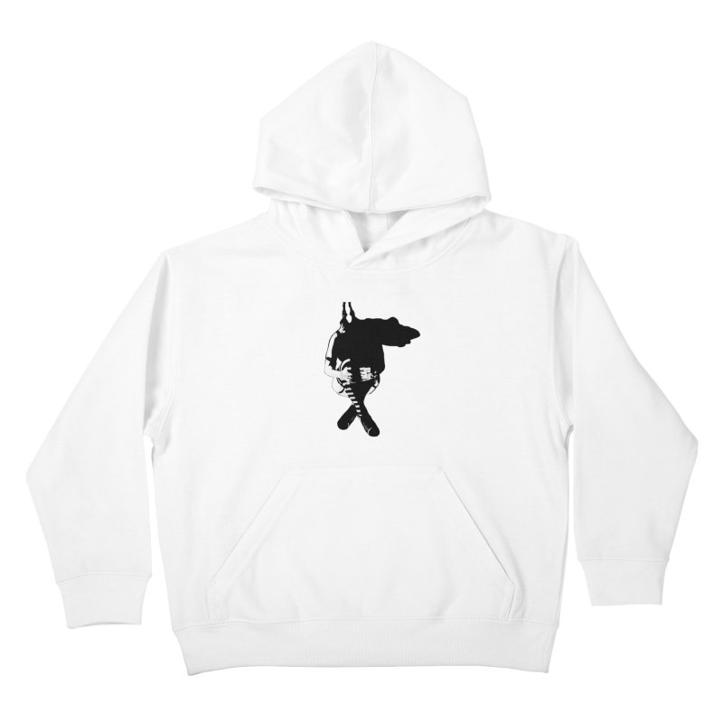 Suspense Kids Pullover Hoody by Make Art Eat Pudding