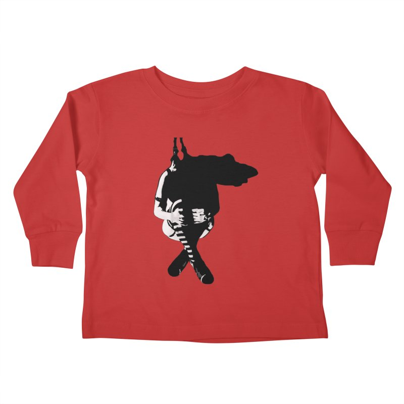 Suspense Kids Toddler Longsleeve T-Shirt by Make Art Eat Pudding