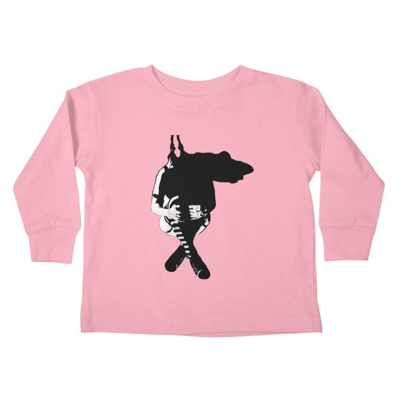 Suspense Kids Toddler Longsleeve T-Shirt by Make Art Eat Pudding