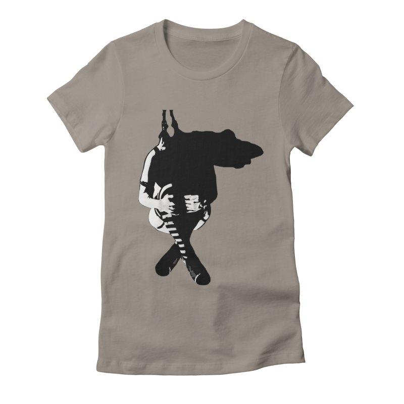 Suspense Women's T-Shirt by Make Art Eat Pudding