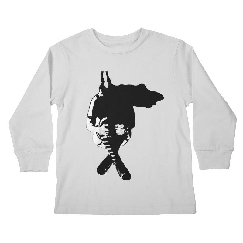 Suspense Kids Longsleeve T-Shirt by Make Art Eat Pudding