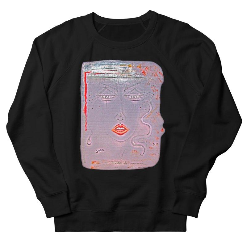 Sleepy Women's French Terry Sweatshirt by Make Art Eat Pudding