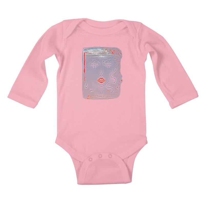 Sleepy Kids Baby Longsleeve Bodysuit by Make Art Eat Pudding