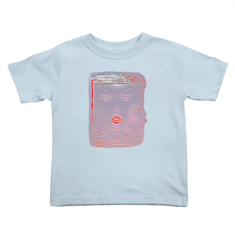 Sleepy Kids Toddler T-Shirt by Make Art Eat Pudding