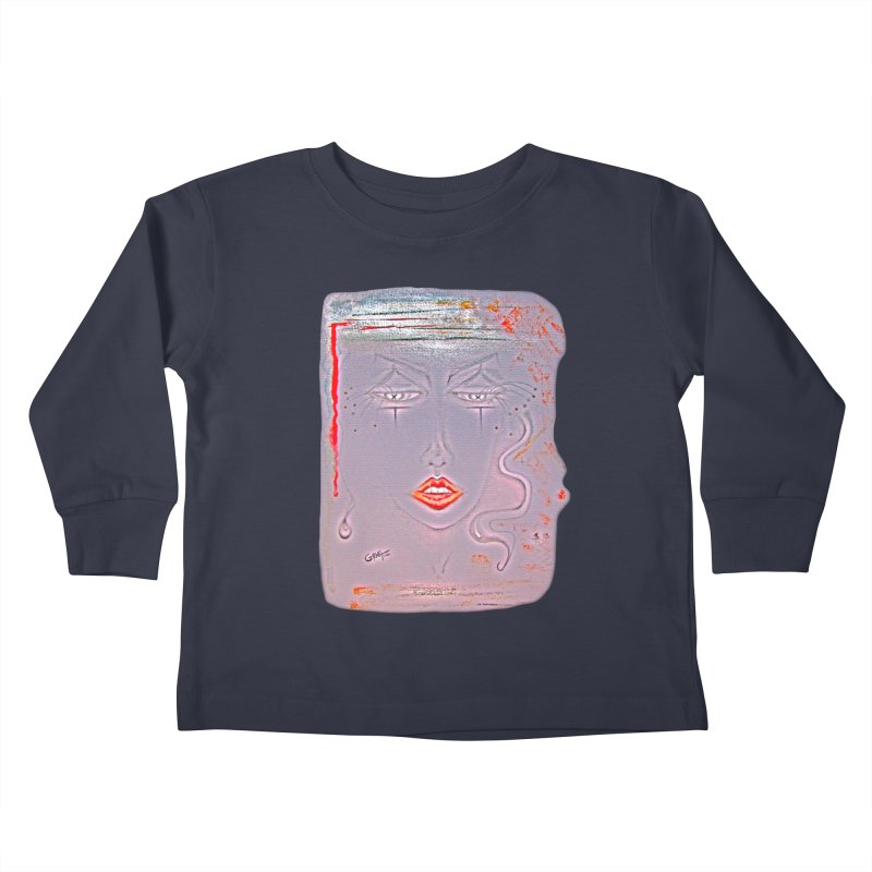 Sleepy Kids Toddler Longsleeve T-Shirt by Make Art Eat Pudding